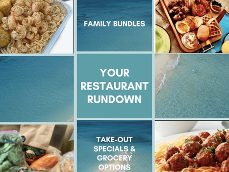 Limited-time: Family meal bundles, Take-out specials & Grocery offers around the Space Coast.