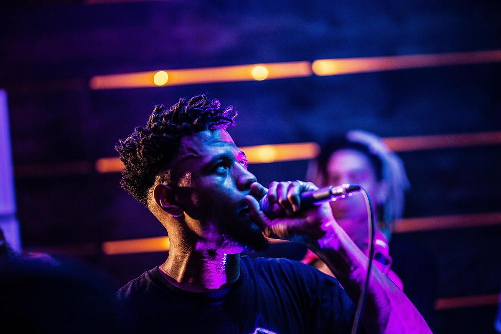 IsaiahMalik Performing at MARS DONT ATTACK