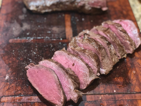 Pan Fried Venison Backstrap