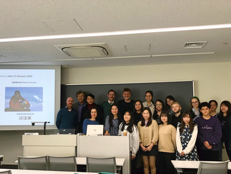 Marek Kamiński came to share his exploration story to students at Toyo university