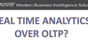 Real-time Analytics over OLTP, good or bad?