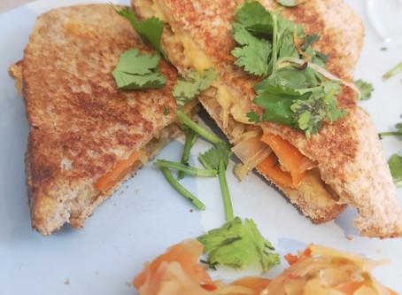 RECIPE: Kimchi Toastie