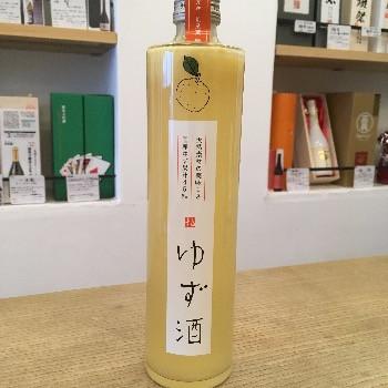 豊かな香りのゆず酒(香川)