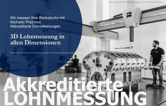 3D Lohnmessung in allen Dimensionen bei IBS Quality GmbH in Bopfingen