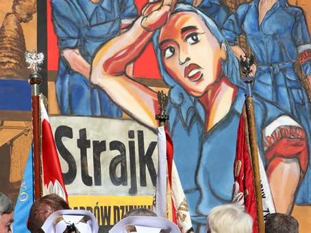 Mural Solidarności w Żyrardowie