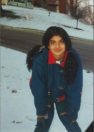 Priyanka Childhood