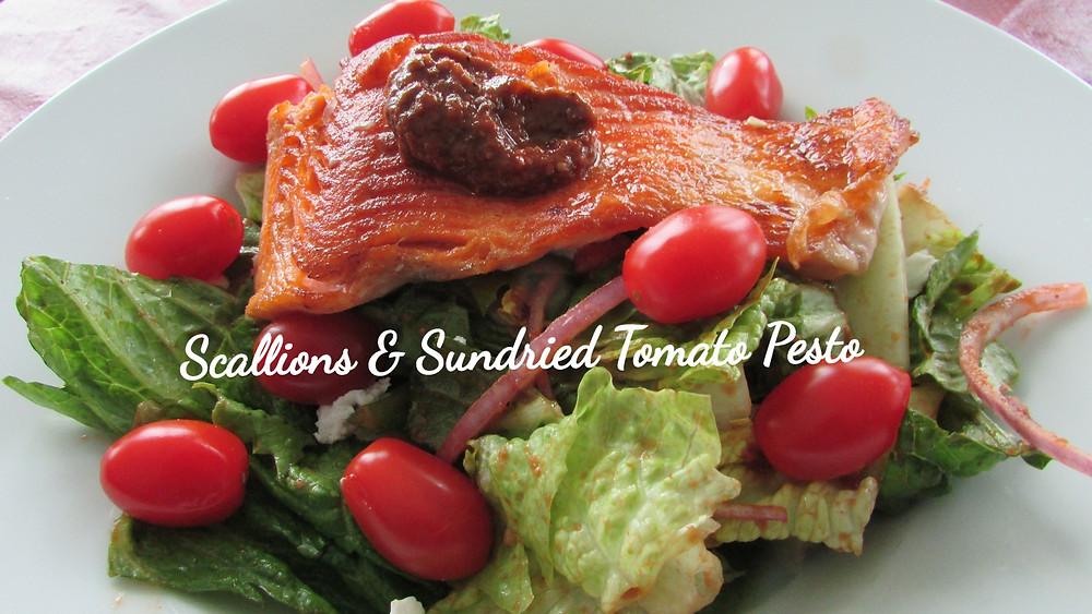 Scallions & Sundried Tomato Pesto