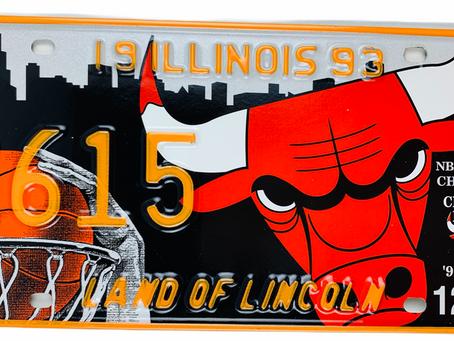Celebrating the Chicago Bulls NBA Basketball Team