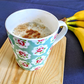 Banana Ginger Hot Smoothie~immune system booster~
