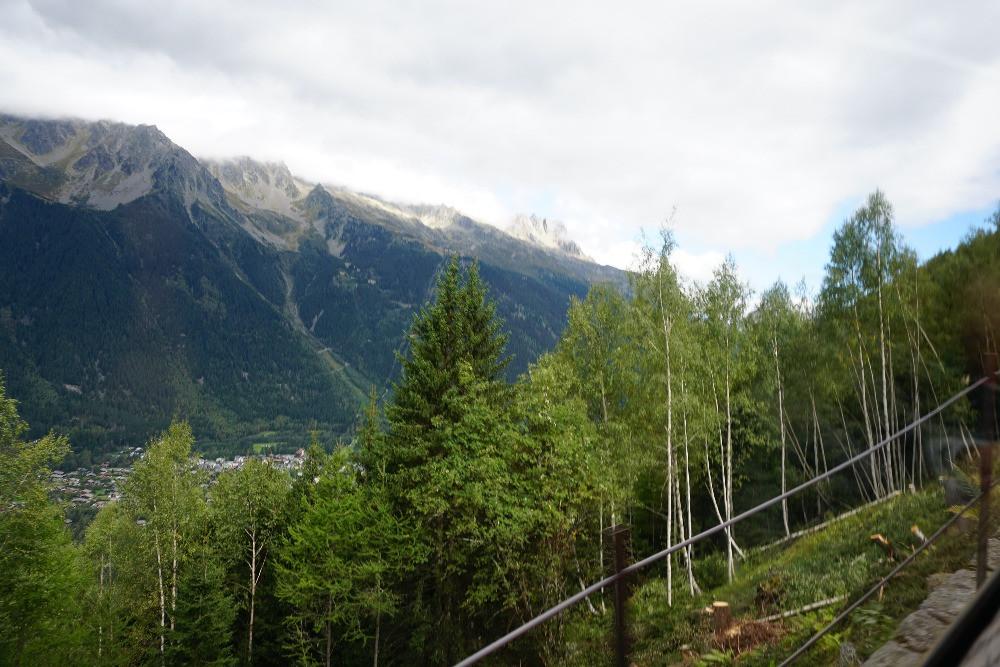 שאמוני מון בלאן ההר הלבן האלפים הצרפתיים