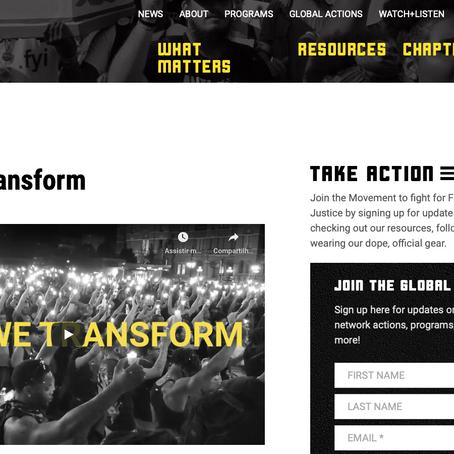Site da semana n°13: Black Lives Matter