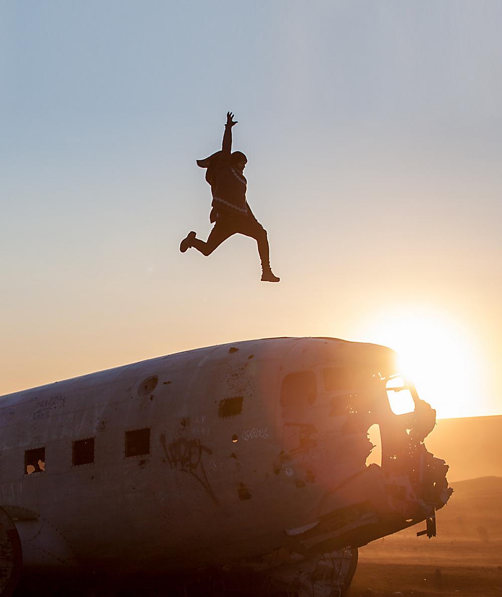 Chris Kueper Plane Wrack Iceland