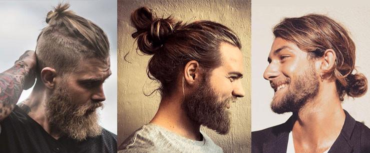 Tendances coiffures 2018 - cheveux longs, chignon