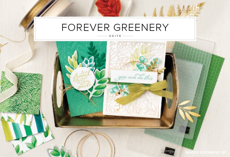 Forever Greenery Stampin' Up! Product Suite Image