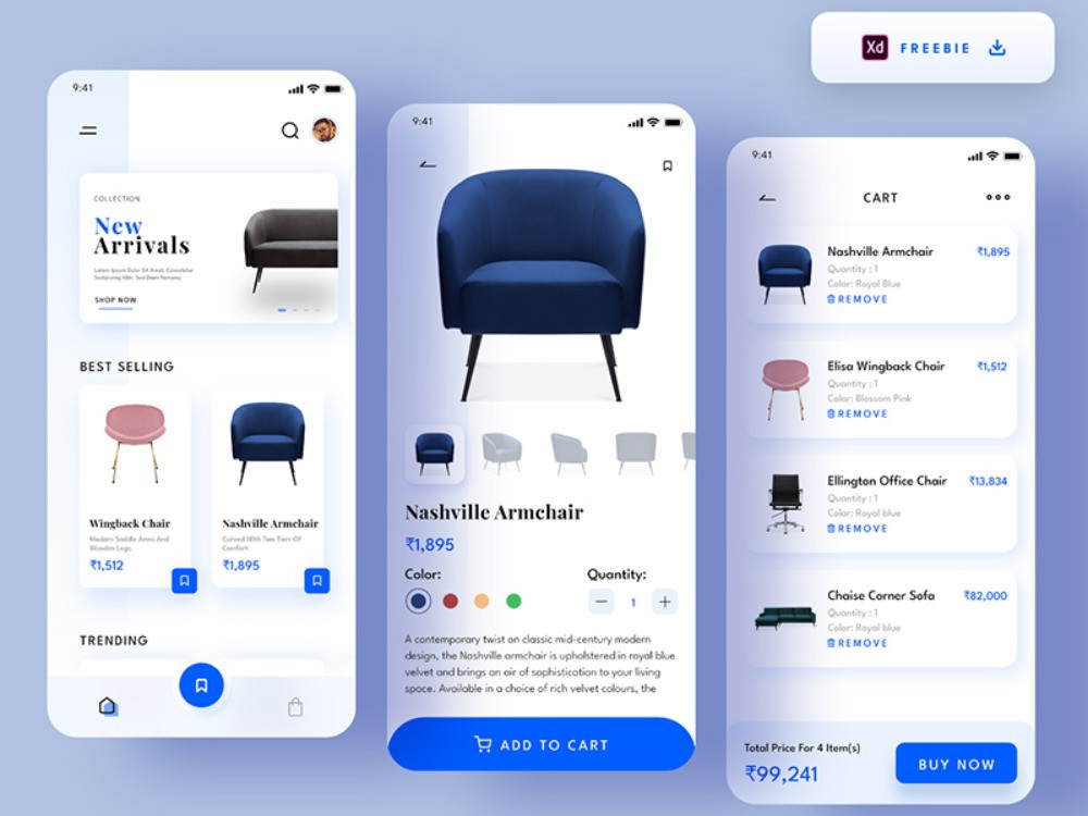 This incredible furniture app is a great asset in your resource library so make sure to save it for the future use