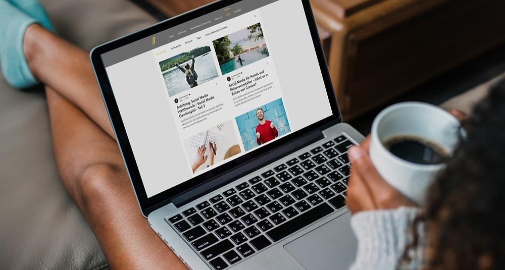 Content Marketing in Form von Unternehmensblogs