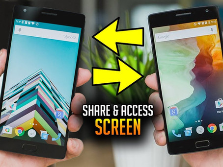Mobile app ideas to create #28: Mobile Screen Share
