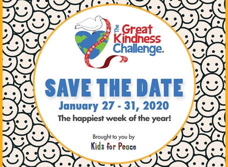 Great Kindness Challenge is Coming Soon!