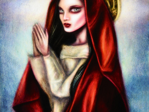 Prayers of the Virgin Painting by Tiago Azevedo