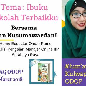 Resume #JumatKulwapODOP Bersama Dian Kusumawardani