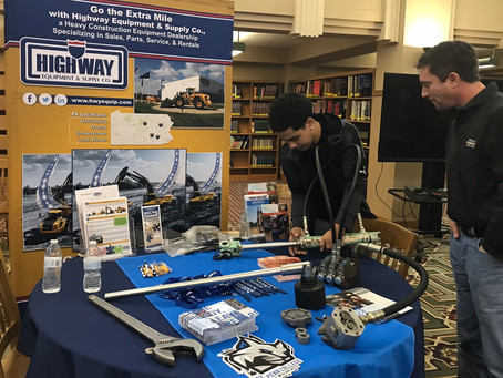 Hold This: Highway & Penn College Draw McCaskey Students to HCE Tech Career
