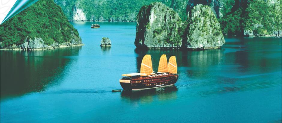 Baía de Halong - Vietnã