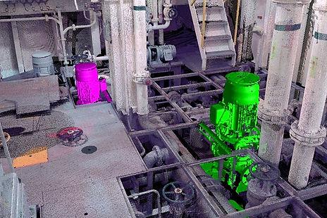 BWT (Ballast Water Treatment), Identificación de bombas y tuberías de Sistemas de tratamiento de agua de lastre de barcos (BWT)