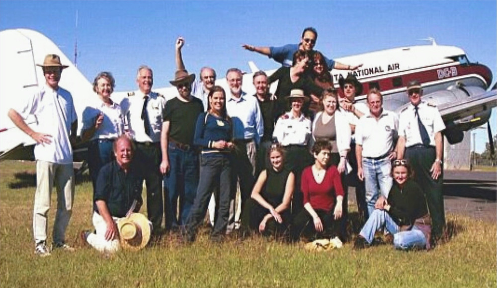 Left to right Michael Burton, Robyn Stutchbury, Noel Tait, Gordon Power, Ross Edwards, Fred Watson, Clio Cresswell, David Malin, Ian Lowe, Branwen Morgan, Sue Griffith, Bernie Hobbs, Wilson da Silva, Abbie Thomas, Rachel Nowak, Melissa Hulbert, Paul Willis, Tim Kennedy, Kersten Davis and Jack Curtis