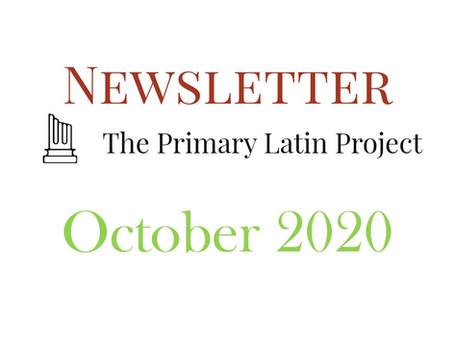 PLP Newsletter October 2020