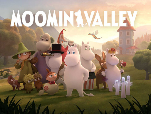 Moominvalley premieres in UK