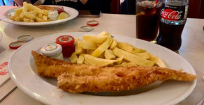 Throwback to London @ Poppies Fish & Chips