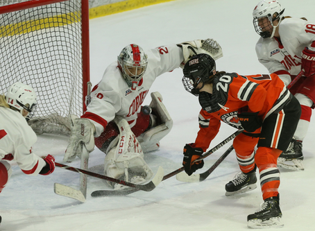 Cornell Women's Hockey Falls Short In ECAC Championship; Still Top-Ranked In NCAA Tournament