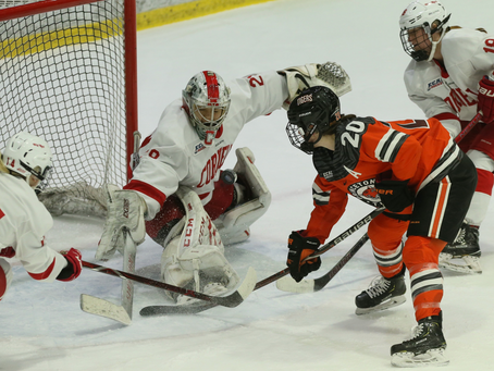 Cornell Women's Hockey Falls Short In ECAC Championship; Still Top-Ranked In NCAA Tournament