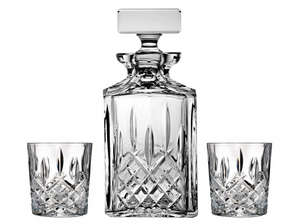 waterford, decanter, crystal, bar accessories