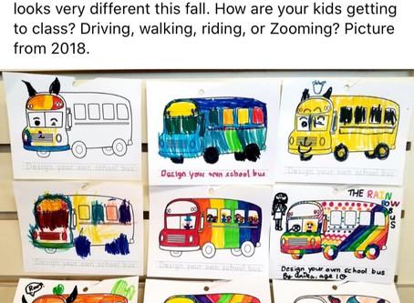 Student Art-School Buses