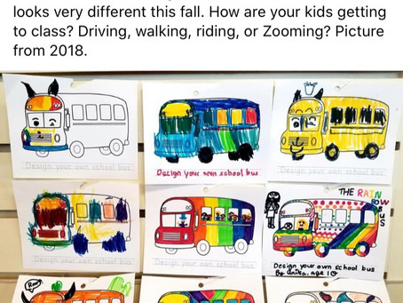 Student Art-School Buses