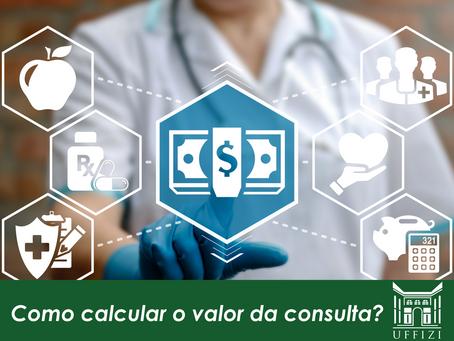 Como calcular o valor da consulta?