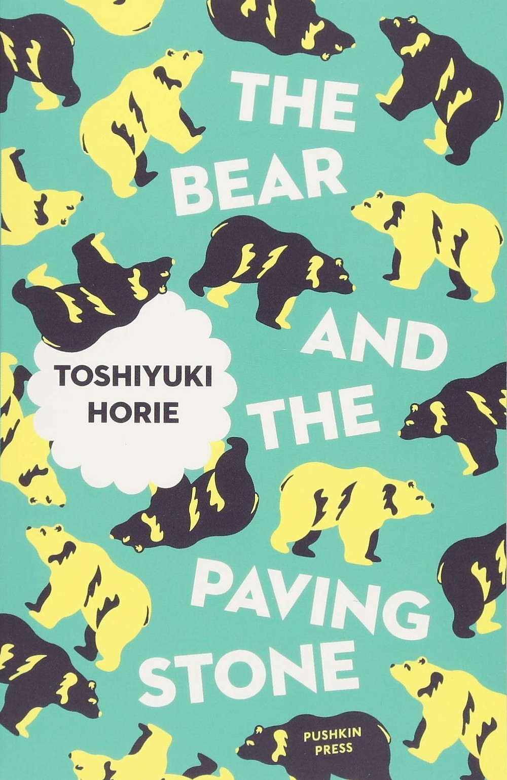 The Bear and the Paving Stone by Toshiyuki Horie thebookslut book reviews the book slut
