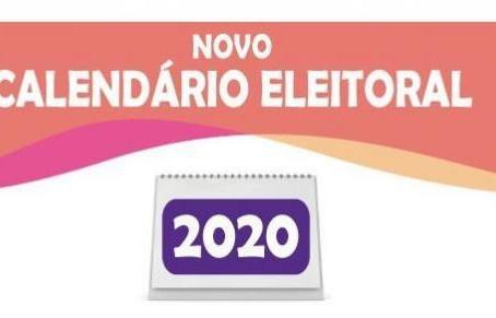 Calendário Eleições 2020