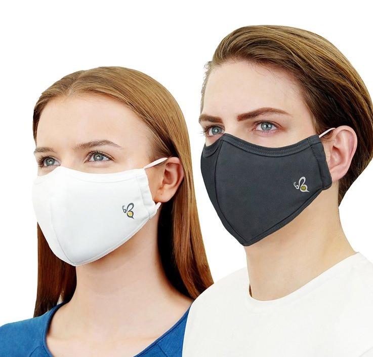 越南4層口罩 高效防病毒(99.9%) CE認證 可洗30次
