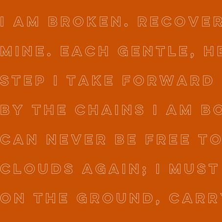 I am broken - Clare Knighton