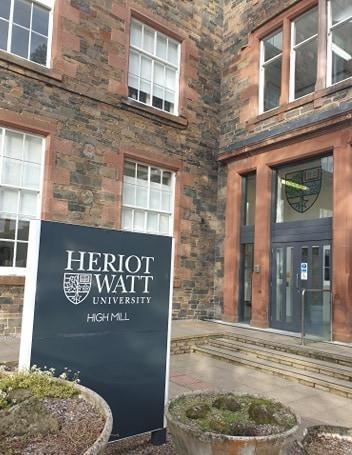 Heriot watt university high mill borders campus