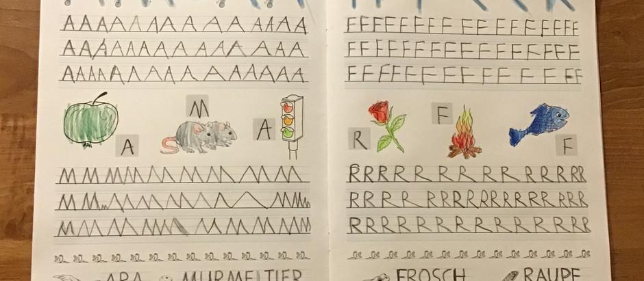 21: Schreiblehrgang-Grossbuchstaben