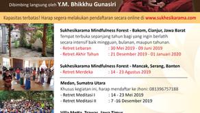 Retret Meditasi Vipassanā 2019