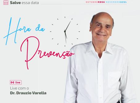 LIVE COM DR. DRAUZIO VARELLA