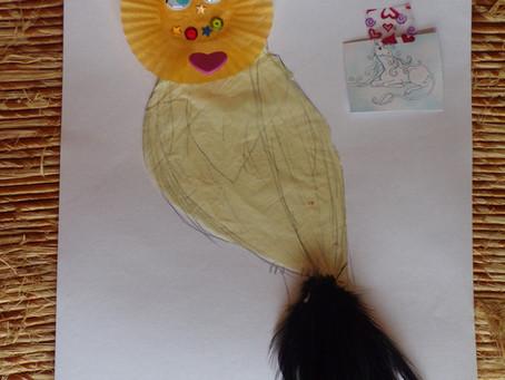 """L'oiseau de paix de """"Rigolote"""""""