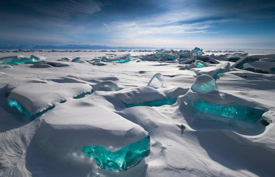 Lac Baïkal gelé