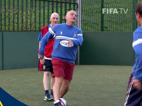 Le Walking Football, qu'est-ce c'est ?