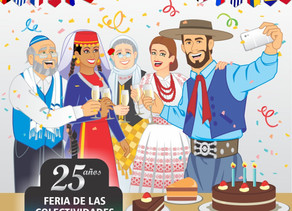 Feria de las colectividades en Mar del Plata