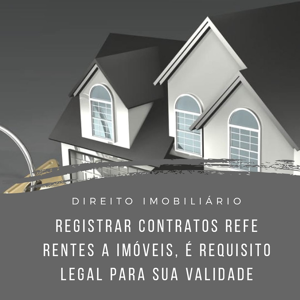 direito imobiliário registro contrato